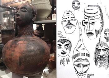 Ashmoleum Exhibits and Sketches