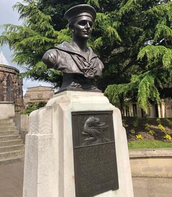 Douglas Morris Harris Statue