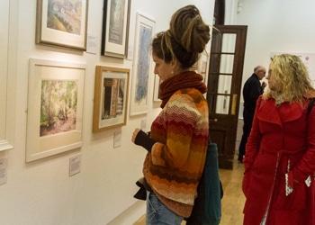 Girl at Exhibition Wolverhampton