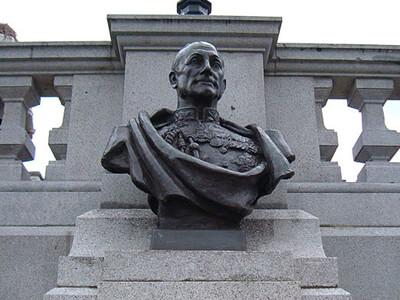 John Jellicoe Bust Trafalgar Square Charles Wheeler