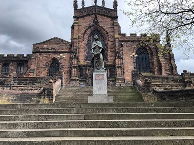 Lady Wulfrun and St Peters Church