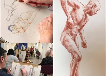 Life Drawing Montage