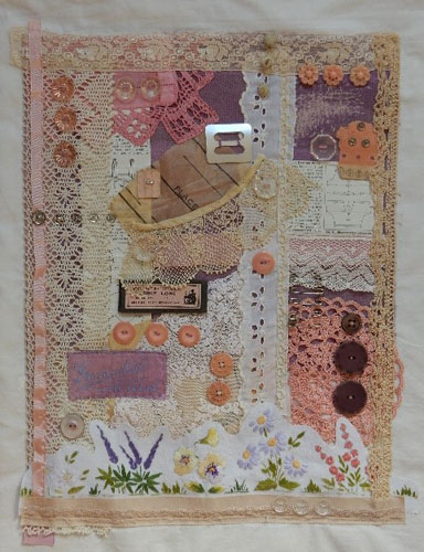 Saskia-Poller Textile art