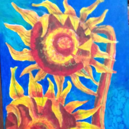 Debbie Rosser – Sunflowers