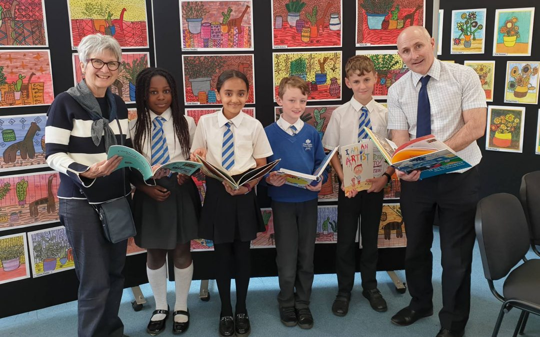 Spreading the love of Art at Claregate Primary School