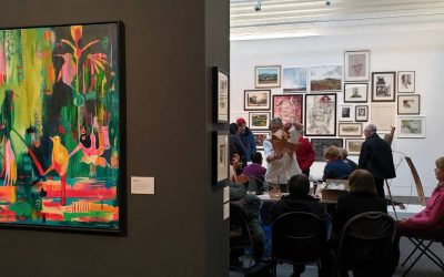 Centenary Exhibition Event – Watercolour and 3D demonstrations