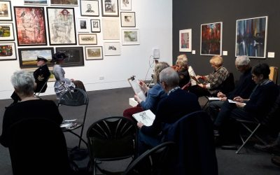 WSA Sketching Event at Wolverhampton Art Gallery 4th January 2020